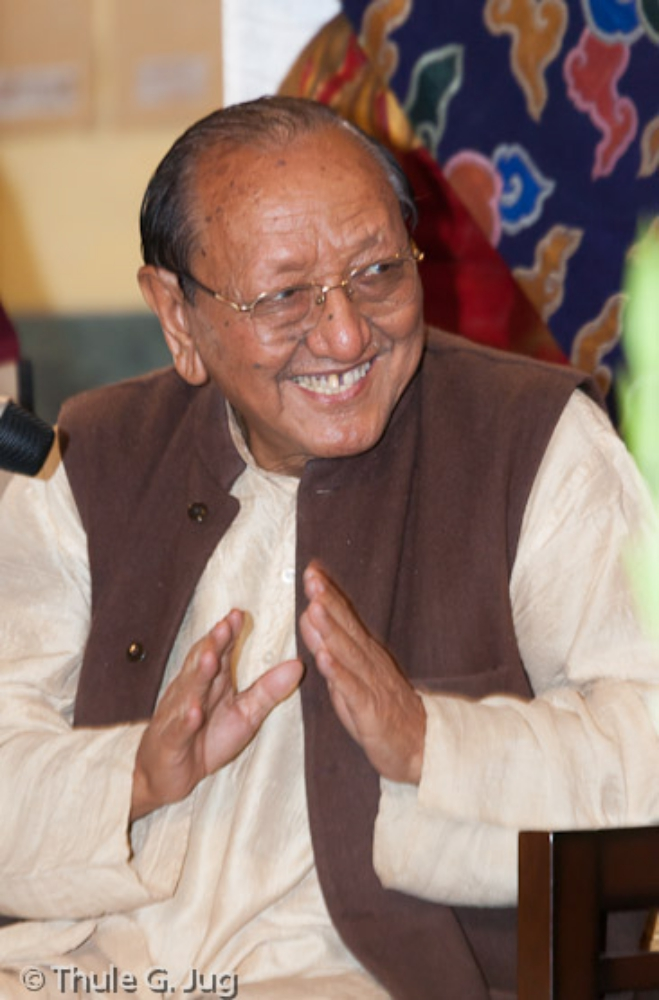Prof. Sempa Dorje, a master of Buddhist philosophy and Sanskrit, formerly a professor at the Central University of Higher Tibetan Studies, Varanasi