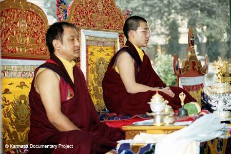 First Kagyu Monlam in Bodhgaya 1996