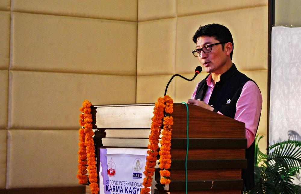 Anchor Dr. Tsewang Gyatso from Sikkim