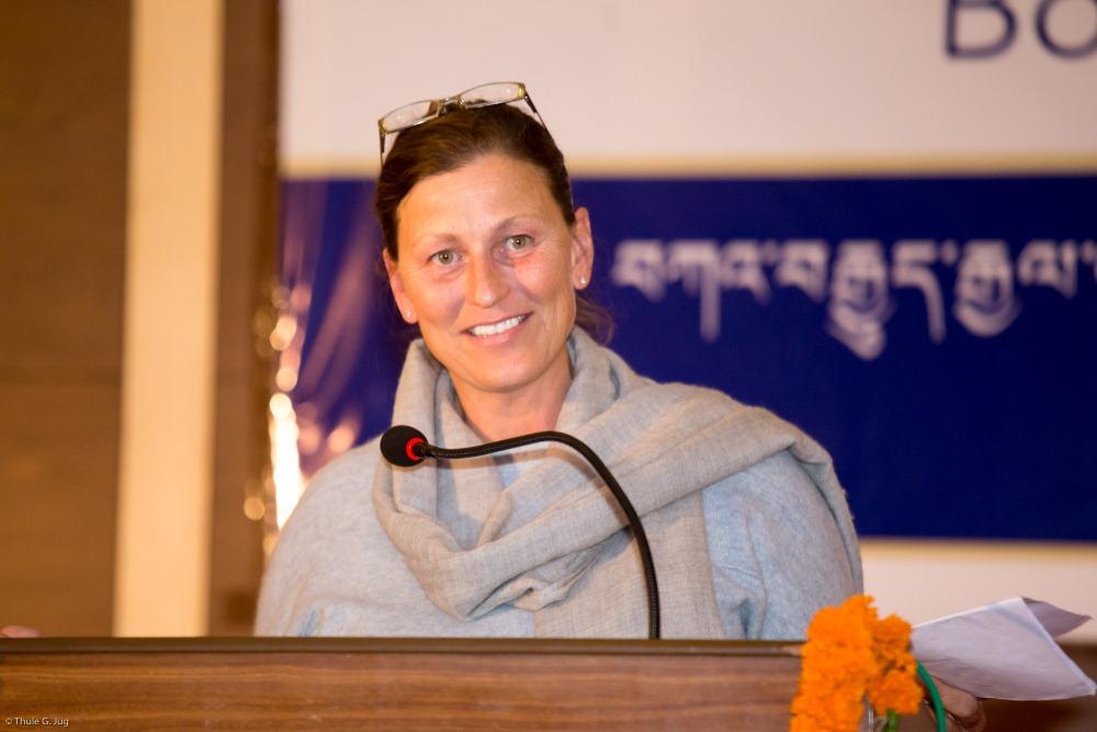 Jill Taura representing Shar Minub, Nepal