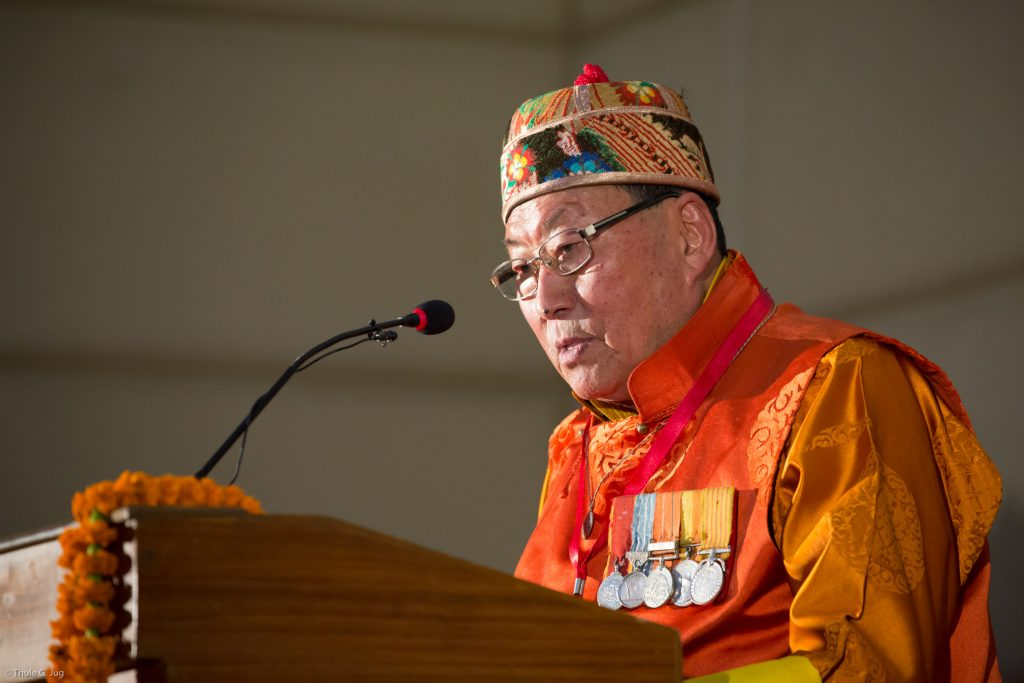 Captain Yongda, Sikkim