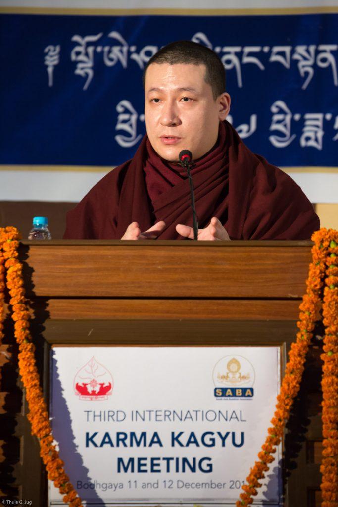 Concluding speech by HH Gyalwa Karmapa